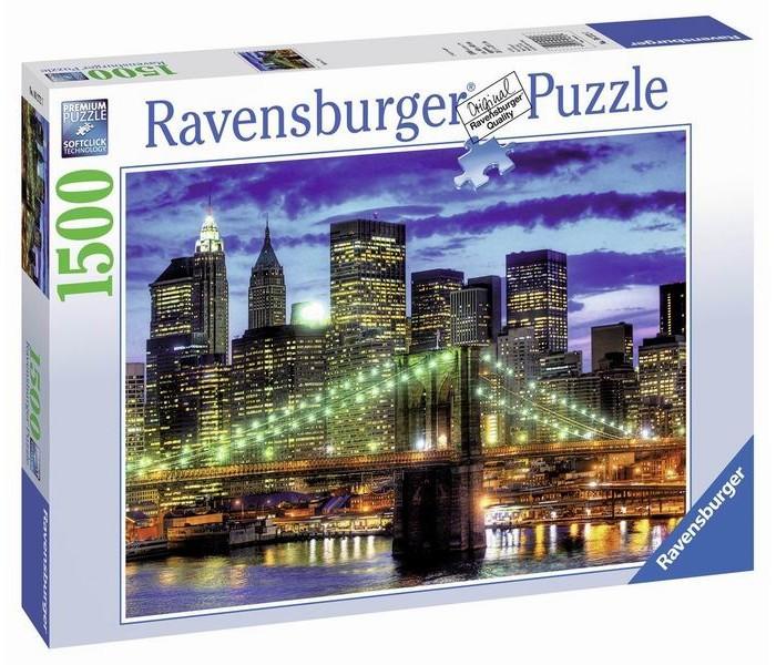 Пазлы Ravensburger Пазл Небоскребы Нью-Йорка 1500 элементов ravensburger пазл тихая бухта 1500 деталей