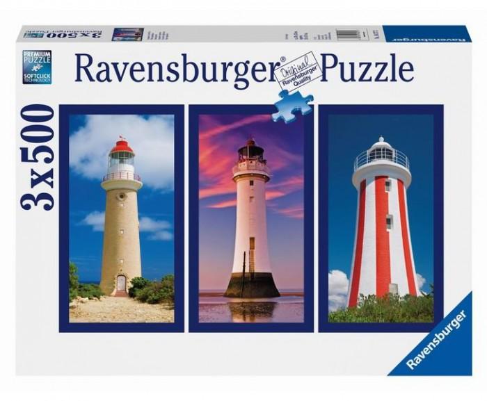 Пазлы Ravensburger Пазл Маяк 3х500 элементов ravensburger пазл тихая бухта 1500 деталей