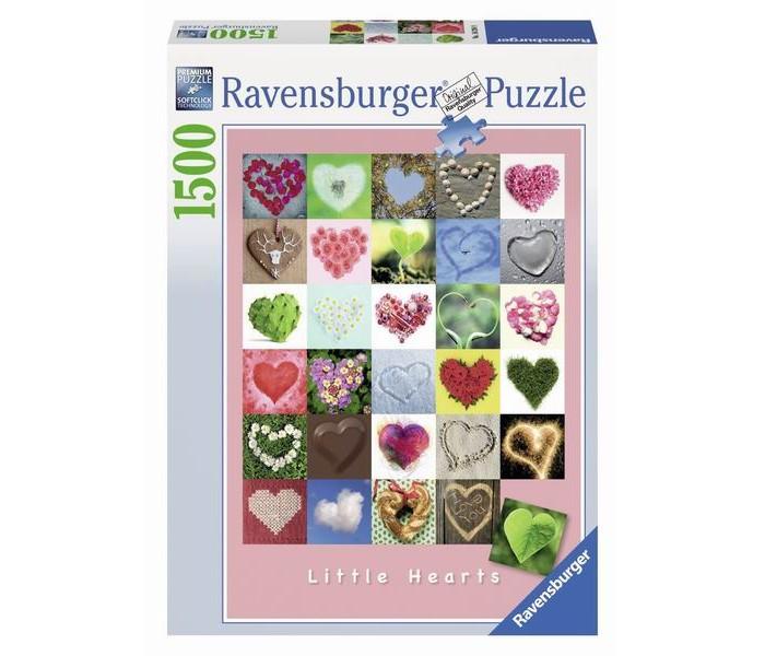 Пазлы Ravensburger Пазл Галерея сердец 1500 элементов ravensburger пазл тихая бухта 1500 деталей