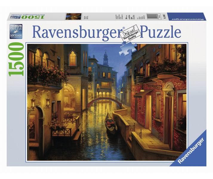 Пазлы Ravensburger Пазл Венеция 1500 элементов пазлы ravensburger пазл бруклинский мост 1500 элементов