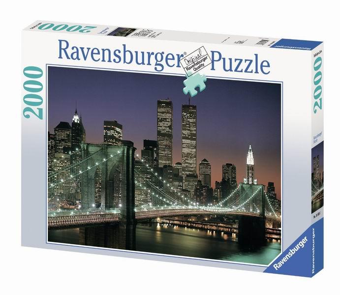 Пазлы Ravensburger Пазл Бруклинский мост 2000 элементов пазлы ravensburger пазл бруклинский мост 1500 элементов
