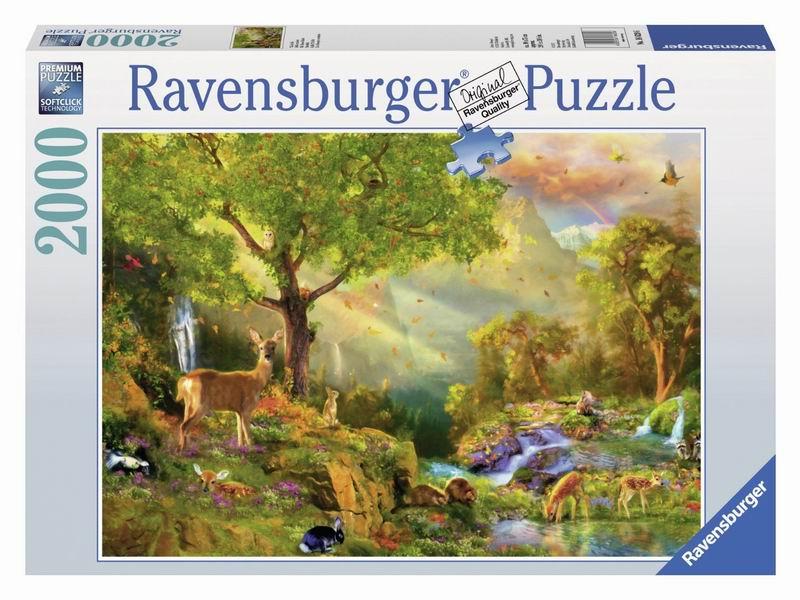 Пазлы Ravensburger Пазл Сказочный лес 2000 элементов пазлы ravensburger пазл сказочный волк 500 деталей