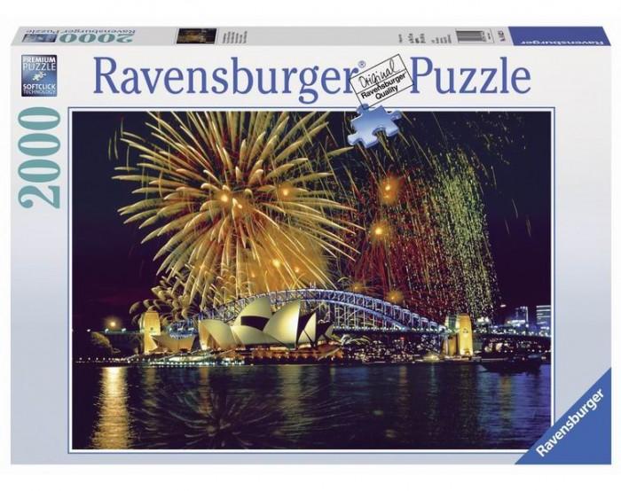 Купить Пазлы, Ravensburger Пазл Фейерверк над Сиднеем 2000 элементов