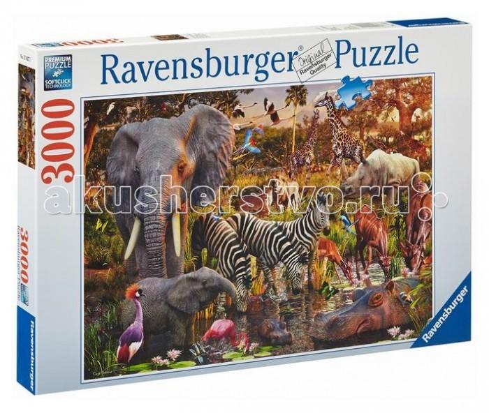 Ravensburger Пазл Животные Африки 3000 элементов