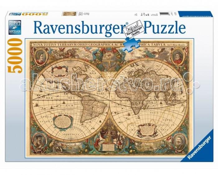 Пазлы Ravensburger Пазл Историческая карта 5000 элементов