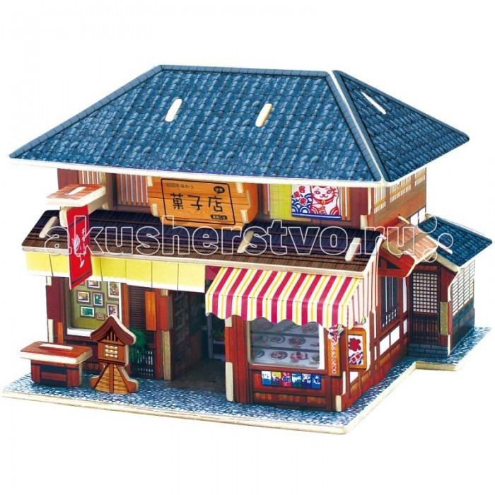 Пазлы Robotime Деревянные 3D пазлы Японский десертный домик 36 деталей нож десертный мондиал 922797