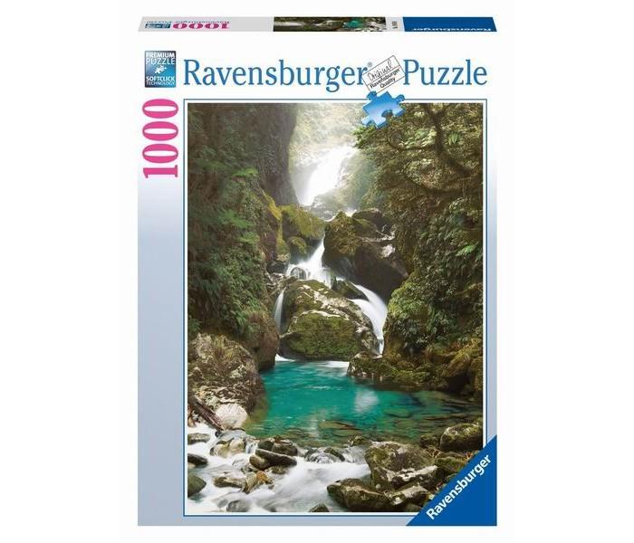 Пазлы Ravensburger Пазл Водопад Маккей. Новая Зеландия 1000 элементов пазлы ravensburger паззл маяк на полуострове брус 1000 шт