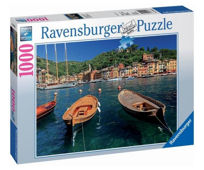 Пазлы Ravensburger Пазл Гавань в Портофино 1000 элементов пазлы origami пазл дм зайчик и волчонок 25 элементов