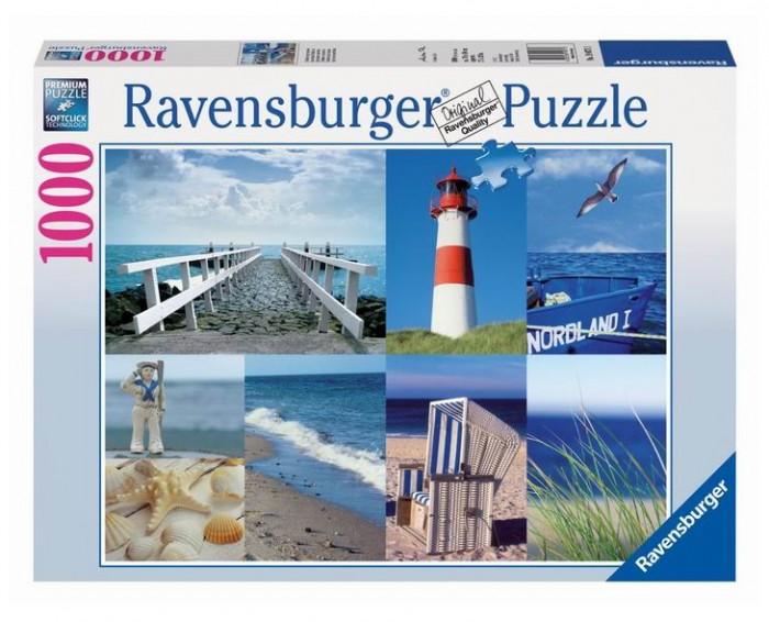 Пазлы Ravensburger Пазл Морской пейзаж 1000 элементов
