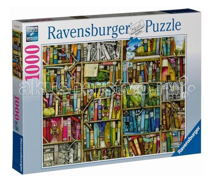 Пазлы Ravensburger Пазл Книжная лавка 1000 элементов маклей к книжная лавка
