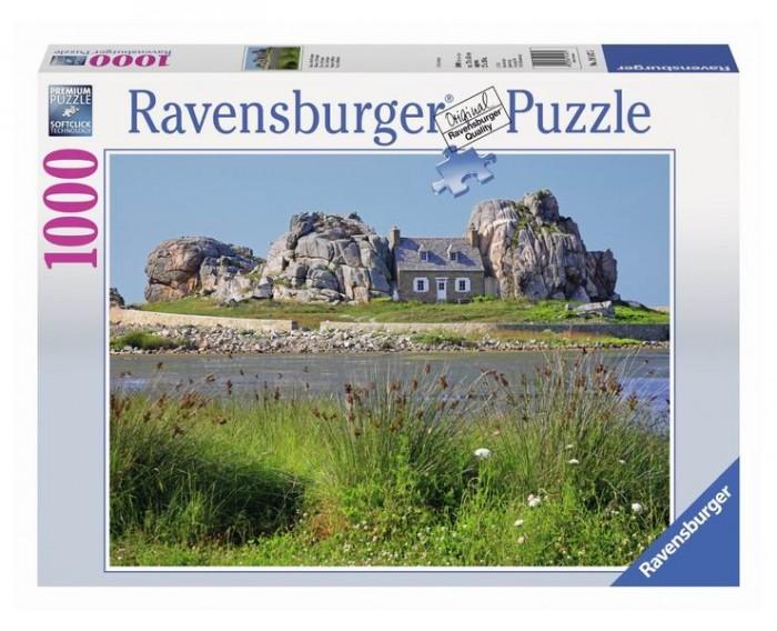 Пазлы Ravensburger Пазл Дом в Британии 1000 элементов пазлы origami пазл дм зайчик и волчонок 25 элементов