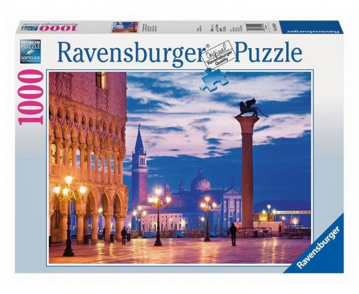 Пазлы Ravensburger Пазл Площадь Сан-Марко 1000 элементов пазлы origami пазл дм зайчик и волчонок 25 элементов