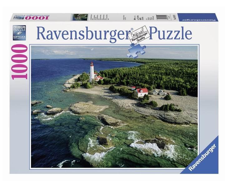 Пазлы Ravensburger Пазл Маяк на полуострове Брус 1000 элементов пазлы ravensburger паззл маяк на полуострове брус 1000 шт