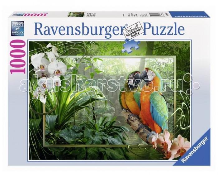 Пазлы Ravensburger Пазл Попугаи Ара 1000 элементов ravensburger пазл пышное цветение 1000 деталей