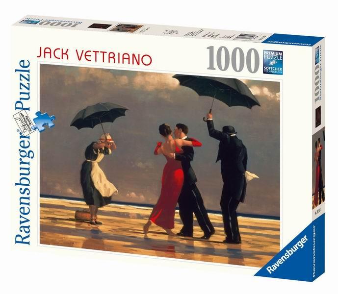 Пазлы Ravensburger Пазл Джек Веттриано. Танец на Побережье 1000 элементов пазлы ravensburger паззл маяк на полуострове брус 1000 шт