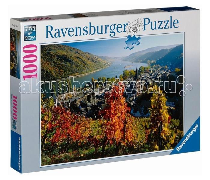 Пазлы Ravensburger Пазл Город на Рейне 1000 элементов