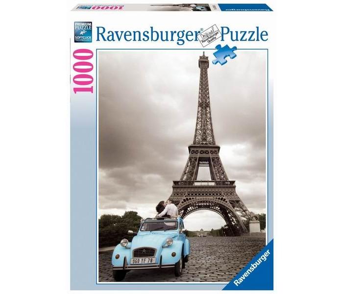 Пазлы Ravensburger Пазл Романтика в Париже 1000 элементов пазлы origami пазл дм зайчик и волчонок 25 элементов