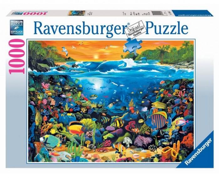 Пазлы Ravensburger Пазл Подводный мир 1000 элементов пазлы ravensburger пазл дом бальо в барселоне 1000 шт