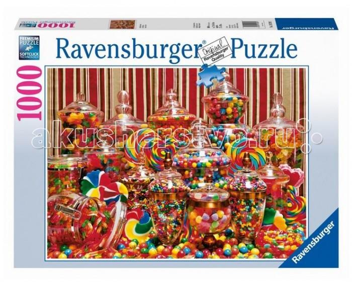 Пазлы Ravensburger Пазл Конфетный рай 1000 элементов пазлы ravensburger пазл дом бальо в барселоне 1000 шт