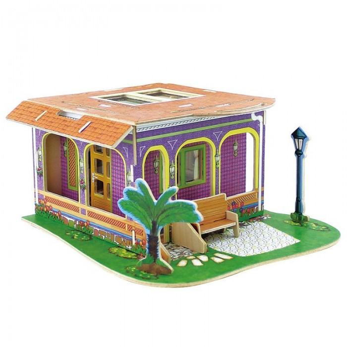 Пазлы Robotime Деревянные 3D пазлы Кабинет 16 деталей игрушечные машинки 3d пазлы пазлы деревянные игрушки летательный аппарат автомобиль 3d своими руками дерево классика мальчики