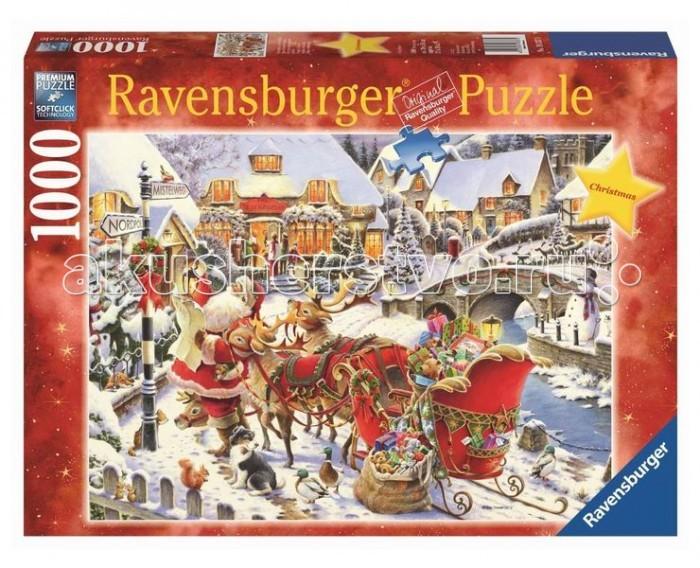 Ravensburger Пазл Санта Клаус 1000 элементов