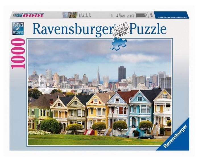 Пазлы Ravensburger Пазл Викторианские дома Сан-Франциско 1000 элементов
