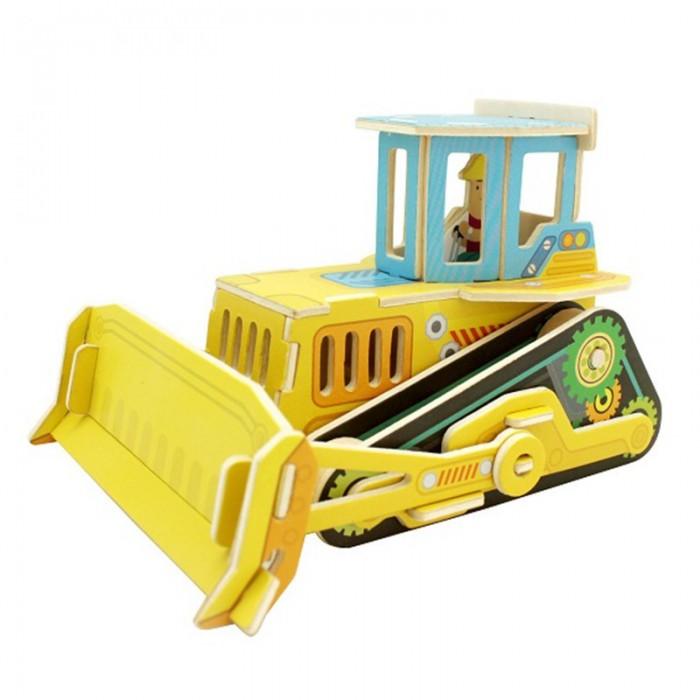 пазлы robotime деревянные 3d пазлы турецкий рынок 40 деталей Пазлы Robotime Деревянные 3D пазлы Бульдозер 35 деталей