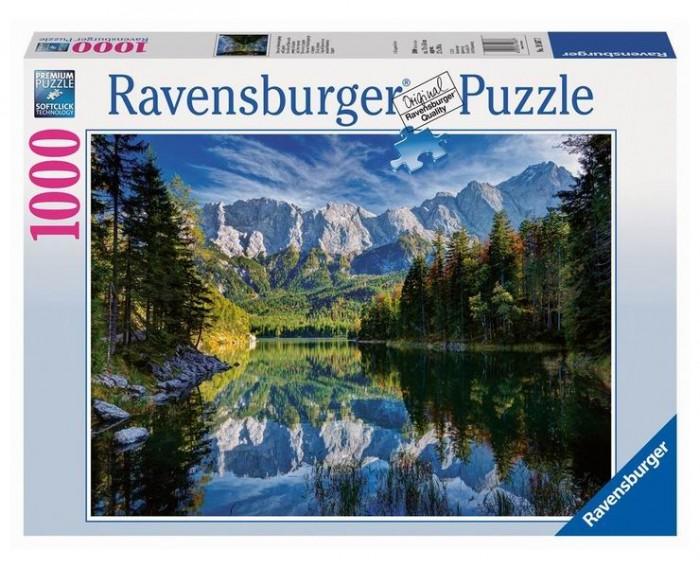 Пазлы Ravensburger Пазл Озеро Эйб 1000 элементов пазлы origami пазл дм зайчик и волчонок 25 элементов