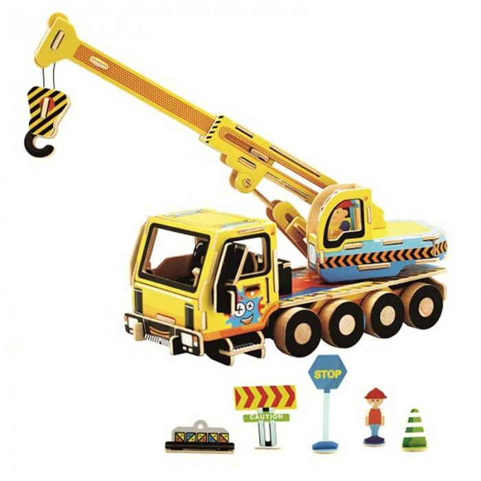 пазлы robotime деревянные 3d пазлы турецкий рынок 40 деталей Пазлы Robotime Деревянные 3D пазлы Кран 35 деталей