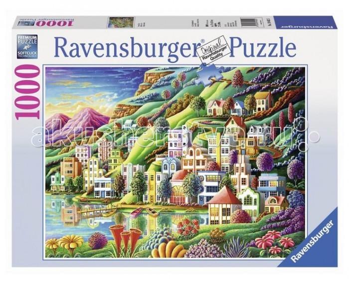 Пазлы Ravensburger Пазл Волшебный город 1000 элементов пазлы ravensburger пазл дом бальо в барселоне 1000 шт