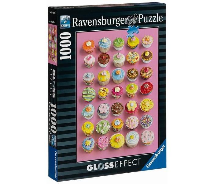 Купить Пазлы, Ravensburger Пазл Цветные кексы с глянцевым эффектом 1000 элементов