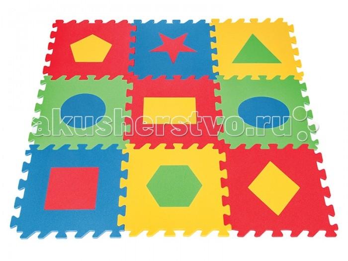 Игровой коврик Pilsan Геометрические фигуры