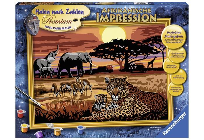 Картины по номерам Ravensburger по номерам Африка