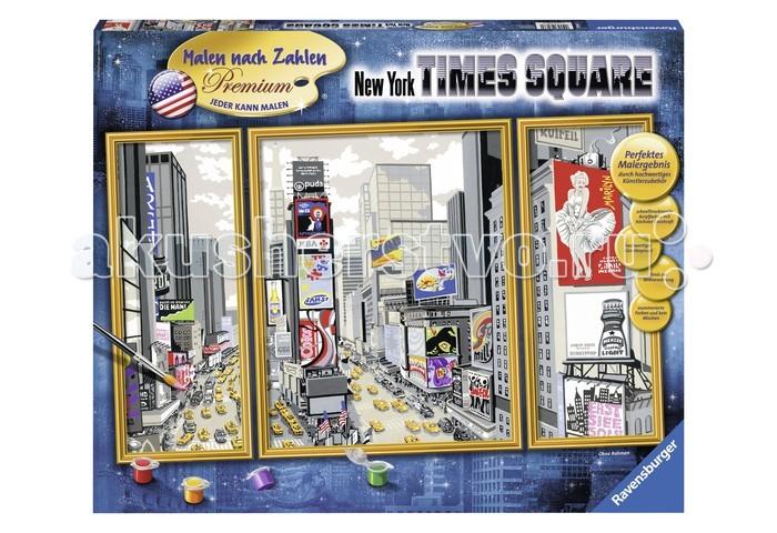 Картины по номерам Ravensburger по номерам Таймс-сквер набор для творчества ravensburger ravensburger раскраска по номерам таймс сквер