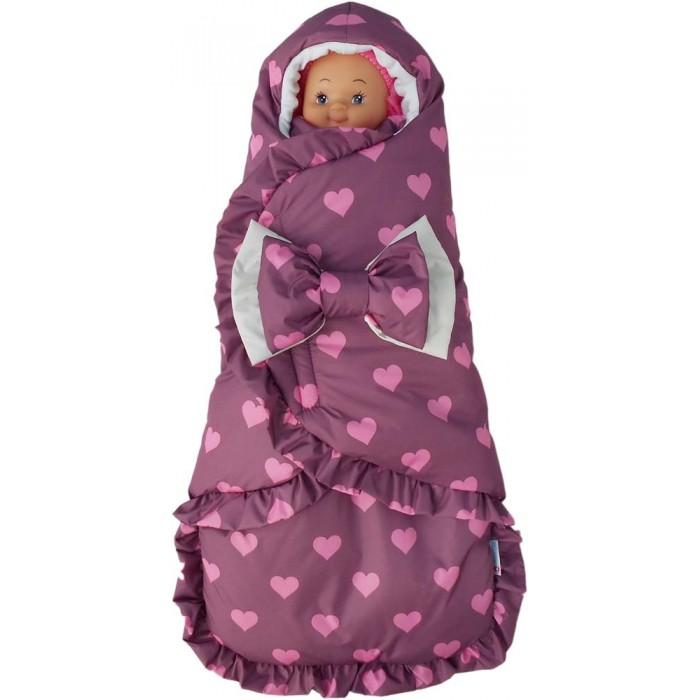 Детская одежда , Конверты на выписку LovelyCare Конверт-кокон Сладкие сердечки арт: 359864 -  Конверты на выписку