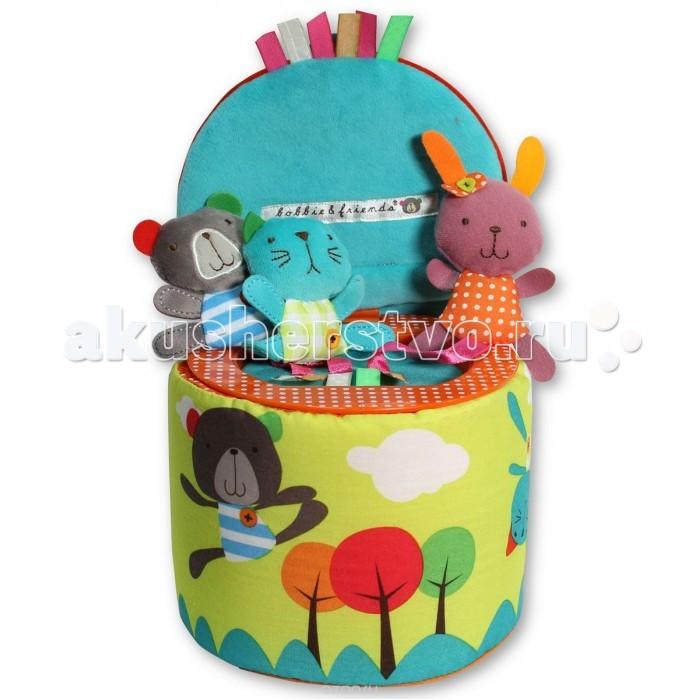 Мягкие игрушки Bobbie & Friends Трое в коробке фигурки игрушки prostotoys пупсень серия лунтик и его друзья