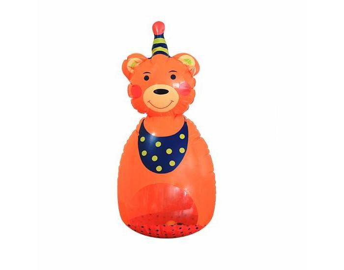 Развивающие игрушки Lubby надувная Мишутка-Неваляш'КА санки galaxy мишутка 1 универсал оранжевые