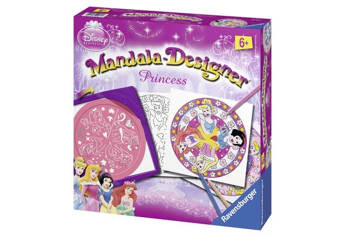 Наборы для творчества Ravensburger Мандала Принцессы  трафарет мандала 10 21х21см 1138832