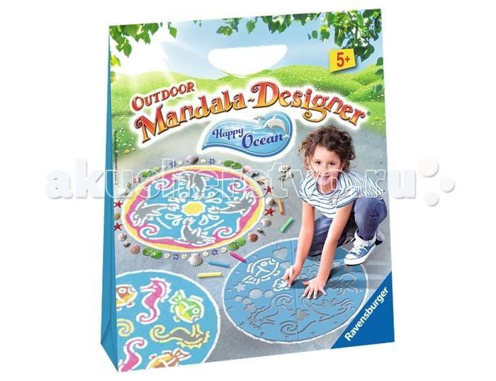 Наборы для творчества Ravensburger Мандала для улицы Подводный мир наборы для творчества ravensburger мандала принцессы