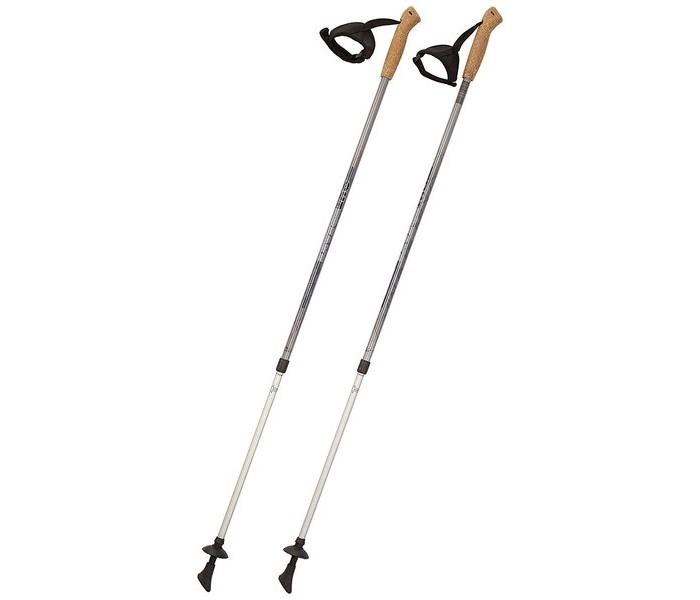 Спорт и отдых , Тренажеры Hudora Палки для скандинавской ходьбы Nordic Walking Teleskop Poles Alu арт: 360249 -  Тренажеры