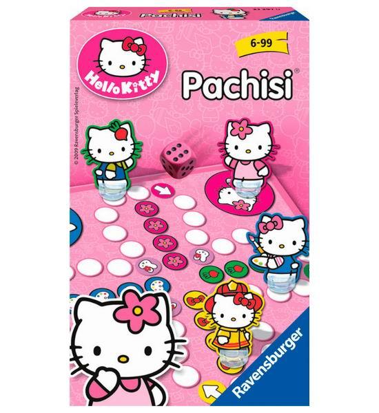 Игры для школьников Ravensburger Настольная игра Пачиси Hello Kitty настольные игры ravensburger настольная игра пачиси hello kitty