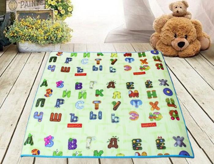 Игровой коврик BabyPol Забавный алфавит с МишкамиЗабавный алфавит с МишкамиИгровой коврик BabyPol Забавный алфавит с Мишками – это настоящее удовольствие для ребенка и лучший помощник в развитии малыша, что по достоинству оценит каждая мама.  Особенности: Лицевая сторона: каждая буква выполнена в виде небольшого ребуса, разгадав который, ребёнок более глубоко прочувствует её значение, поймёт её возможный эмоциональный подтекст и, тем самым, быстрее запомнит. Обратная сторона: веселый лабиринт. Дизайн коврика сделан в виде лабиринта, разгадка которого кроется в правильном следовании за цифрами. По дороге малыши встречают большое количество зверей, мелкие детали и различные предметы.  Этот коврик не даст скучать ни детям, ни взрослым, а общение превратиться в веселую игру на полу.<br>