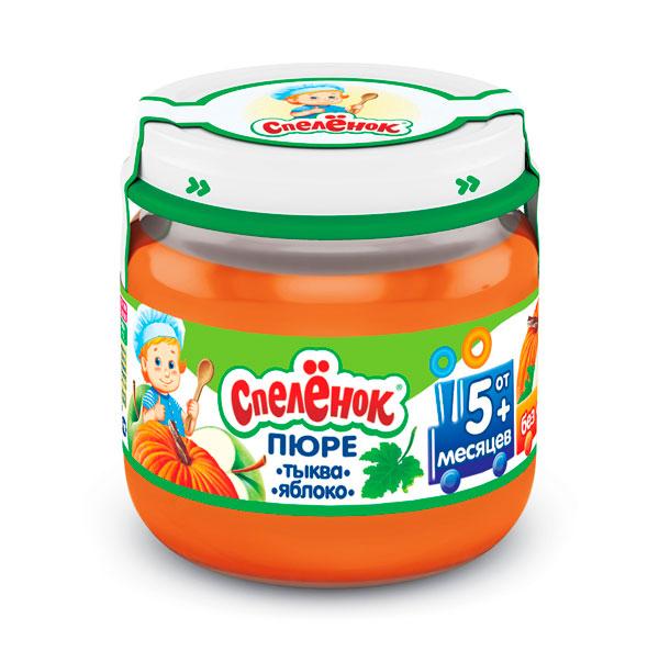 Пюре Спеленок Пюре Тыква яблоко с 5 мес., 80 г спеленок пюре морковь с яблоком с 5 мес 80 гр page 1
