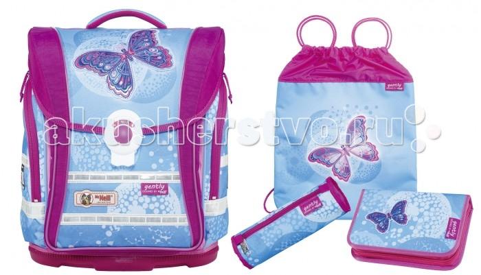 Школьные рюкзаки Thorka Школьный рюкзак MC Neill Ergo Light Compact Легкость 4 предмета mc neill пенал овальныйl гринтрак цвет зеленый
