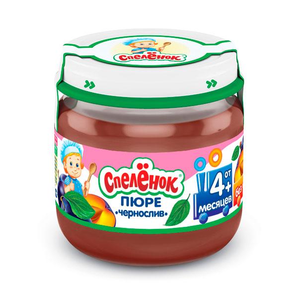 Пюре Спеленок Пюре Чернослив с 4 мес. 80 г nutrifree biscotti con frutti rossi печенье вегетарианское с ягодами 250 г