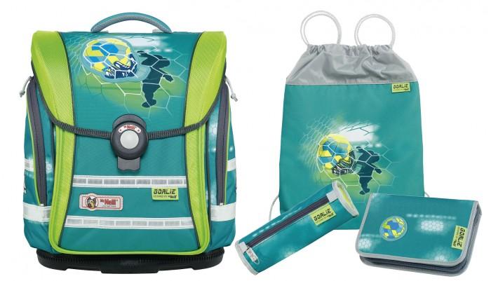 Школьные рюкзаки Thorka Школьный рюкзак MC Neill Ergo Light Compact Вратарь 4 предмета mc neill пенал овальныйl гринтрак цвет зеленый