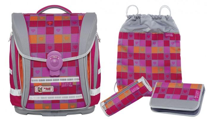 Школьные рюкзаки Thorka Школьный рюкзак MC Neill Ergo Light Compact Милашка 4 предмета mc neill пенал овальныйl гринтрак цвет зеленый