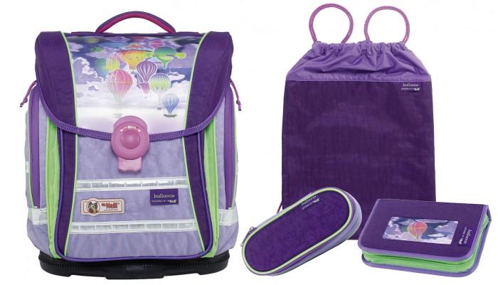 Школьные рюкзаки Thorka Школьный рюкзак MC Neill Ergo Light Compact Воздушные шары 4 предмета mc neill пенал овальныйl гринтрак цвет зеленый