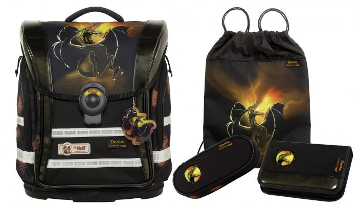 Школьные рюкзаки Thorka Школьный рюкзак MC Neill Ergo Light Compact Дракон 4 предмета mc neill пенал овальныйl гринтрак цвет зеленый