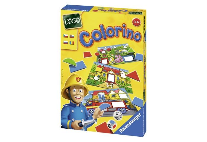 Игры для малышей Ravensburger Настольная игра Лого Колорино игра настольная ловкие пальчики